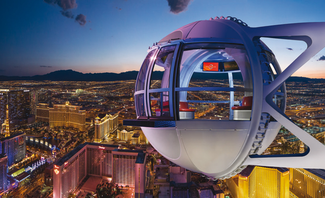 Las Vegas - High Roller at The Linq