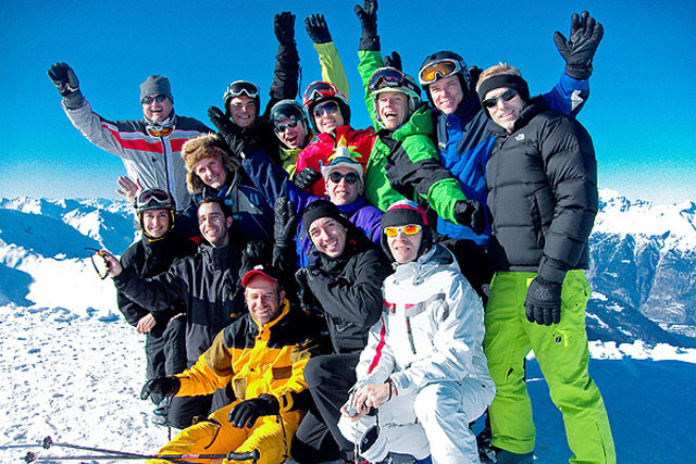 Switzerland - Arosa Gay Ski Week 2015